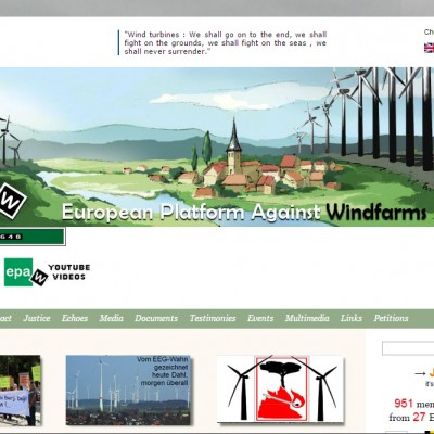 European Platform Against Windfarms