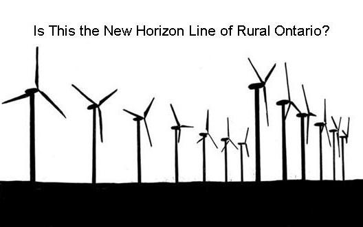Wind Turbine rural ontario